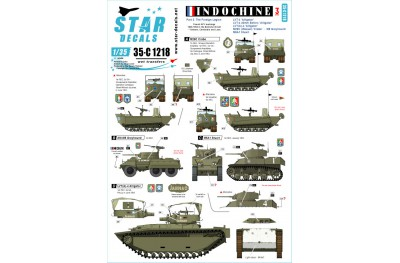1/35 Indochine Decal Part 3