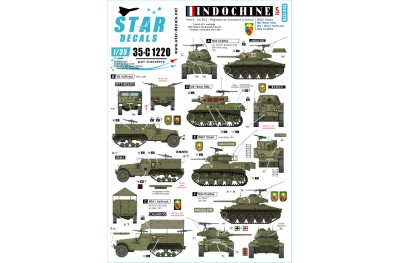 1/35 Indochine Decal Part 5