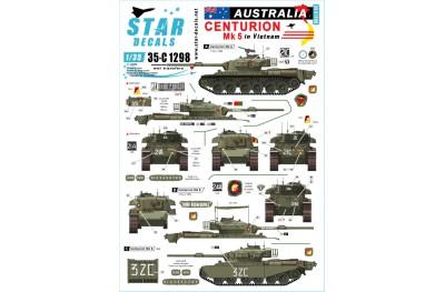 1/35 Australia Centurion Mk5 in Vietnam Decal