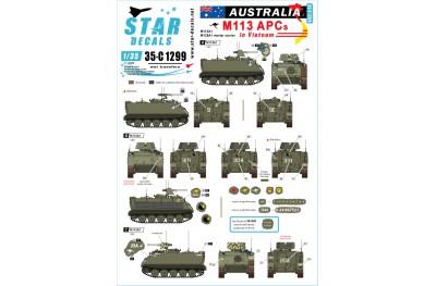 1/35 Australia M113 in Vietnam Decal