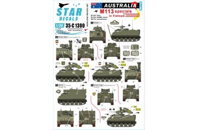1/35 Australia special M113 in Vietnam Decal