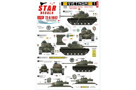 1/72 Vietnam ARVN Decal Part 1