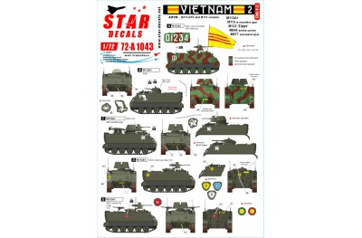 1/72 Vietnam ARVN Decal Part 2