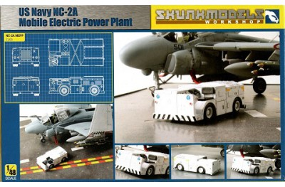 1/48 NC-2A Mobile electric power plant (2 pcs)