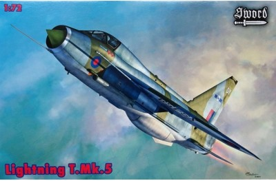 1/72 EE Lightning T. Mk 5 (two seater)