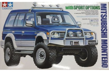 1/24 Mitsubishi Montero with sport option