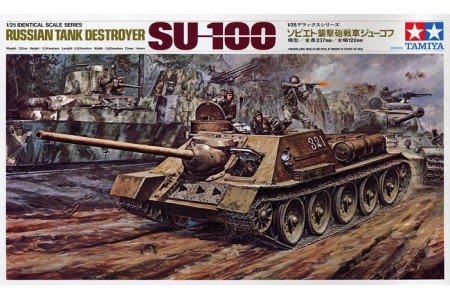 1/25 SU-100 Russian tank destroyer