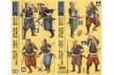 1/35 Japanese samurai warriors set of 8