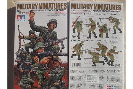 1/35 German assault troops Infantry
