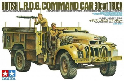 1/35 British LRDG command car