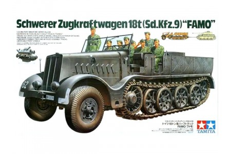 1/35 German Sdkfz 9 18 tons Famo