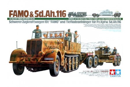 1/35 German Famo and trailer SdAh 116