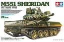 1/35 M-551 Sheridan Vietnam war w/ 3 soldiers