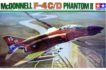 1/32 Mc Donnell F-4C/D Phantom II Mig killer