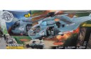 1/18 U-53 Helicopter and Jeep playset (prebuilt)