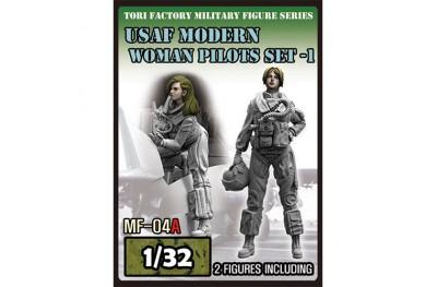 1/32 USAF modern women pilot set 1