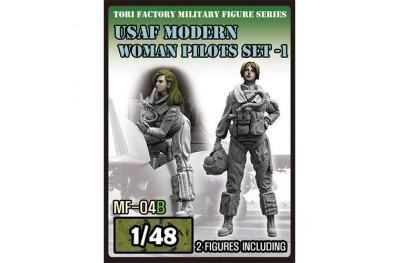 1/48 USAF modern women pilot set 1