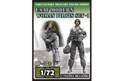 1/72 USAF modern women pilot set 1