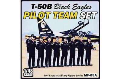 1/48 Black Eagles pilot team