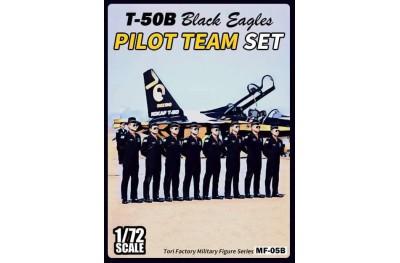1/72 Black Eagles pilot team