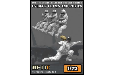 1/72 US modern pilots and deck crew