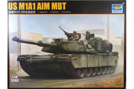 1/16 US M-1A1 AIM MBT