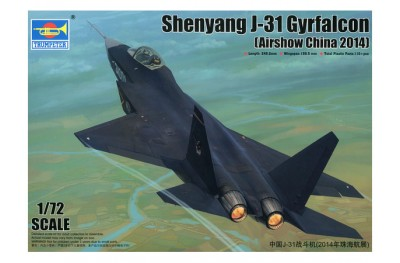 1/72 Shenyang J-31 Gyrfalcon
