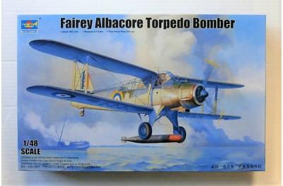 1/48 Fairey Albacore Torpedo bomber