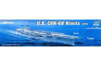 1/350 US CVN-68 Nimitz 1975