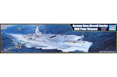 1/350 German Navy aircraft carrier Peter Strasser