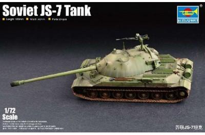 1/72 Soviet JS-7 Tank