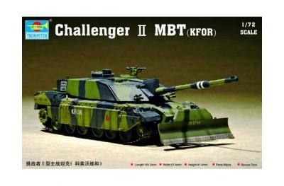 1/72 British Challenger II w/ dozer