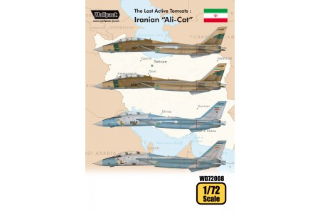 1/72 The last active Tomcats decal