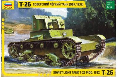 1/35 Soviet light tank T-26 Mod. 1932