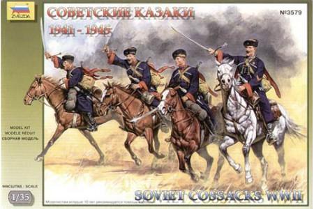 1/35 Soviet cossacks cavalry WWII