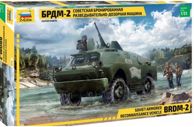 1/35 Soviet BRDM-2 Reconnaissance