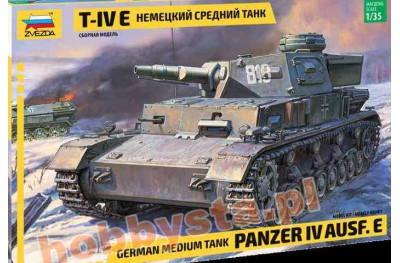 1/35 Panzer IV Ausf E