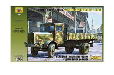 1/35 German heavy truck L-4500S Einheitsfahrerhaus