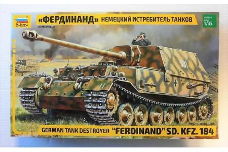 1/35 German tank destroyer SDKFZ 184 Ferdinand
