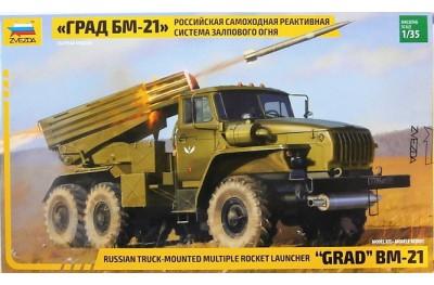 1/35 BM-21 Grad Multiple Launch