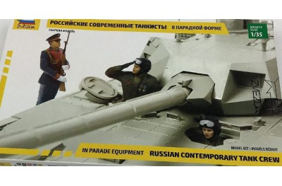 1/35 Russian Tank crew in parade version