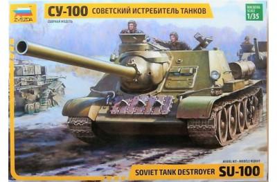 1/35 SU-100 Soviet tank destroyer
