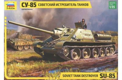 1/35 SU-85 Soviet tank destroyer