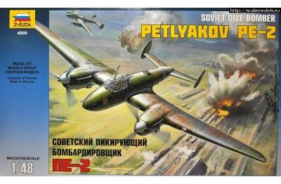 1/48 Soviet dive bomber Petlyakov Pe-2