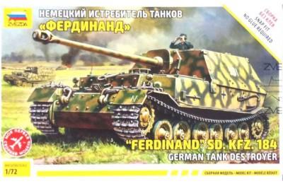 1/72 German tank destroyer SDKFZ 184 Ferdinand