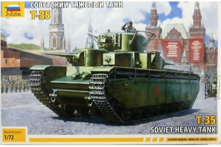 1/72 Soviet heavy tank T-35