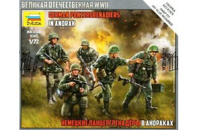 1/72 German panzergrenadiers in anorak