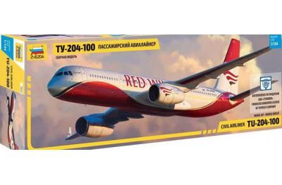 1/144 Russian airliner Tu-204-100