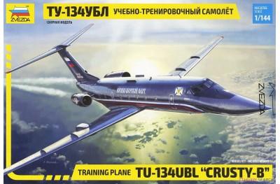 1/144 Training plane Tupolev Tu-134UBL Crusty B