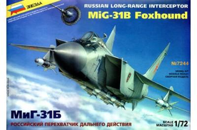 1/72 Mikoyan MiG-31B Foxhound